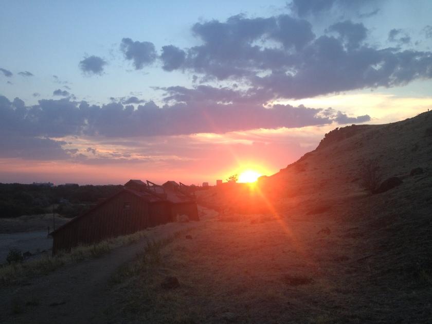 Boise sunset.